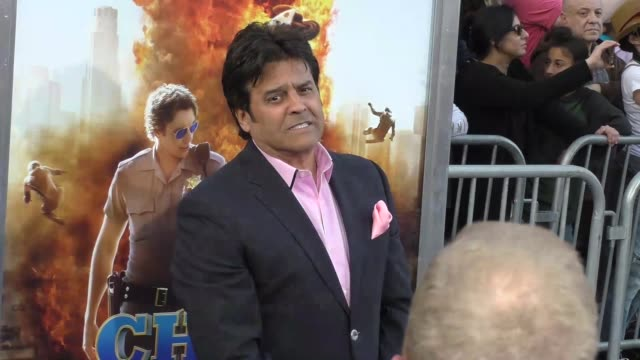 "erik estrada at the ""chips"" los angeles premiere at tcl chinese theatre on march 20, 2017 in hollywood, california. - tcl chinese theatre stock videos & royalty-free footage"