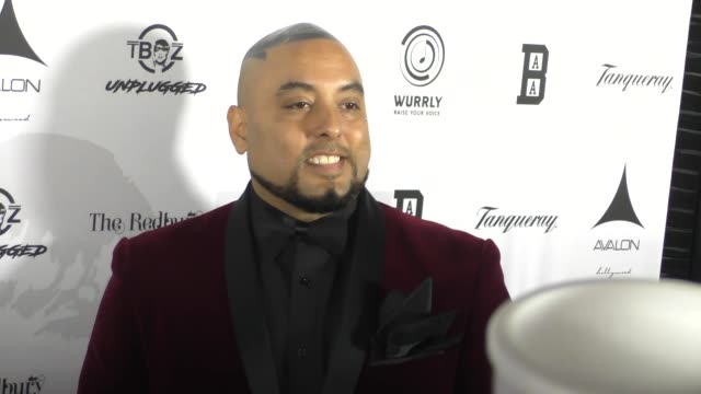 erik gutierrez at the t-boz unplugged benefit concert at avalon hollywood on january 15, 2017 in los angeles, california. - benefit concert stock videos & royalty-free footage