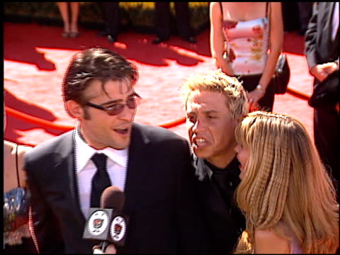 Erik Palladino at the 2000 Emmy Awards at the Shrine Auditorium in Los Angeles California on September 10 2000