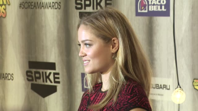 erika christensen at the spike tv's 'scream awards at universal city ca - universal city stock videos & royalty-free footage