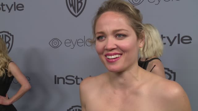 INTERVIEW Erika Christensen at the Warner Bros Pictures and InStyle Host 19th Annual PostGolden Globes Party at The Beverly Hilton Hotel on January 7...
