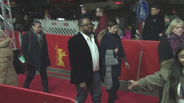 stockvideo's en b-roll-footage met erin davis at 'miles ahead' red carpet 66th berlin international film festival at friedrichstadtpalast on february 18 2016 in berlin germany - internationaal filmfestival van berlijn 2016