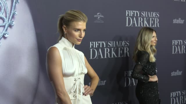 Erin Holland arrives ahead of the Fifty Shades Darker launch screening at Hoyts Entertainment Quarter on February 08 2017 in Sydney Australia