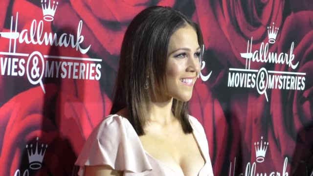 Erin Krakow at the Hallmark Channel and Hallmark Movies and Mysteries Winter 2017 TCA Press Tour at Tournament House on January 14 2017 in Pasadena...
