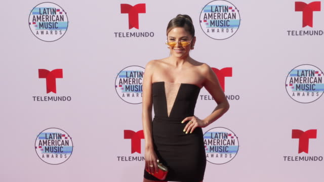 erin lim at the latin american music awards 2019 at dolby theatre on october 17 2019 in hollywood california - the dolby theatre video stock e b–roll