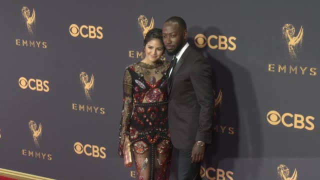 Erin Lim Lamorne Morris at the 69th Annual Primetime Emmy Awards at Microsoft Theater on September 17 2017 in Los Angeles California
