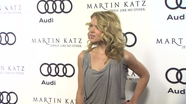 Erin Richards at the Audi And Martin Katz Celebrate The 2012 Golden Globe Awards in West Hollywood CA