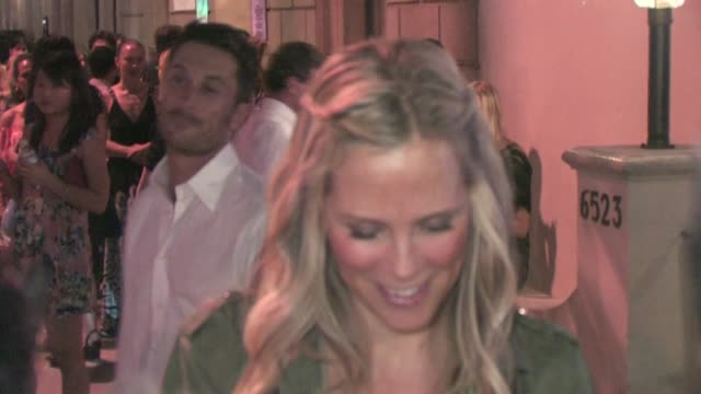 Erinn Bartlett Oliver Hudson leaving the Something Borrowed After Party in Hollywood
