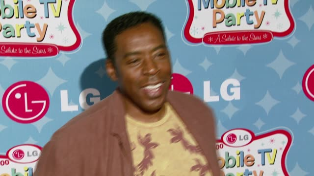 Ernie Hudson at the LG Mobile Phones Introduces the Future of TV at LG's Mobile TV Party at Paramount Studios in Hollywood California on June 19 2007
