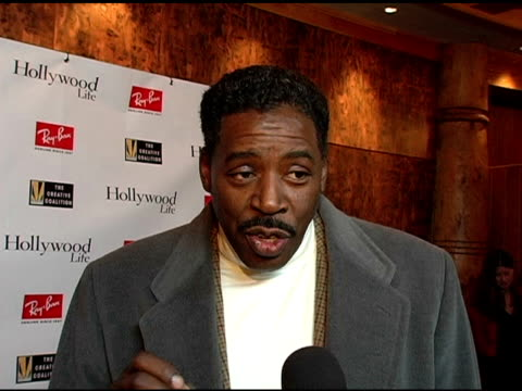 ernie hudson on kevin bacon at the kevin bacon reception of the 2005 rayban visionary award hosted by creative coalition and hollywood life at stein... - beer stein stock videos and b-roll footage