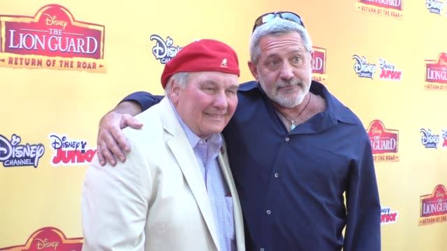 Ernie Sabella Kevin Schon at the Premiere Of Disney Channel's The Lion Guard Return Of The Roar at Walt Disney Studios in Burbank at Celebrity...