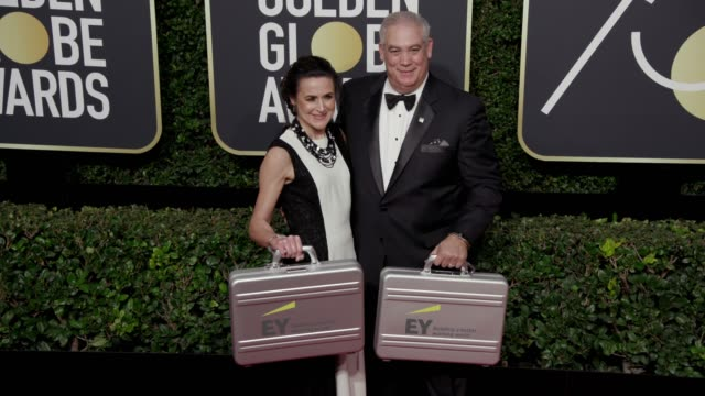 Ernst Young representatives at the 75th Annual Golden Globe Awards at The Beverly Hilton Hotel on January 07 2018 in Beverly Hills California