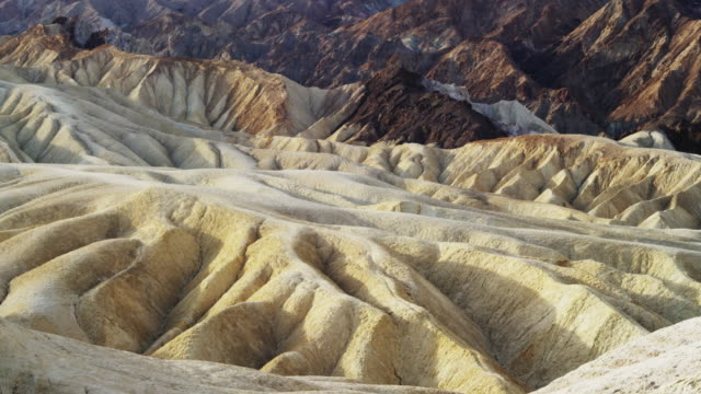 Eroded hill of Death Valley