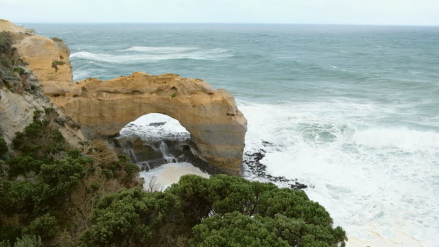 Erosion rock in ocean, Australia