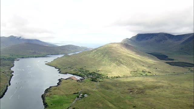 Erriff River Estuary  - Aerial View - Connaught, Ireland