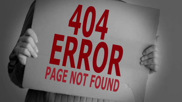 Fehler 404 – Seite nicht gefunden.