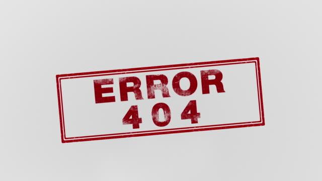 fel 404 - felmeddelande bildbanksvideor och videomaterial från bakom kulisserna