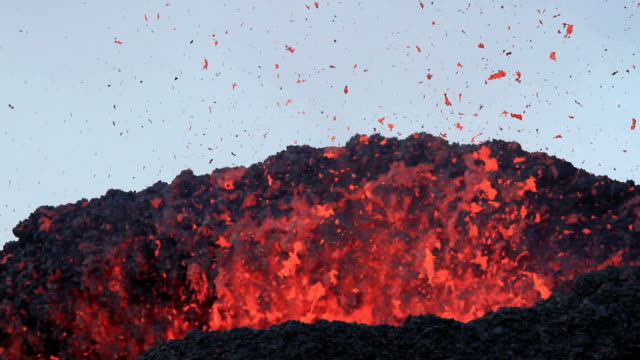 eruption of volcano - erupting stock videos & royalty-free footage