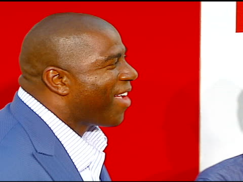 ervin 'magic' johnson at the 'little man' premiere at the mann national theatre in westwood california on july 6 2006 - mann national theater stock videos & royalty-free footage