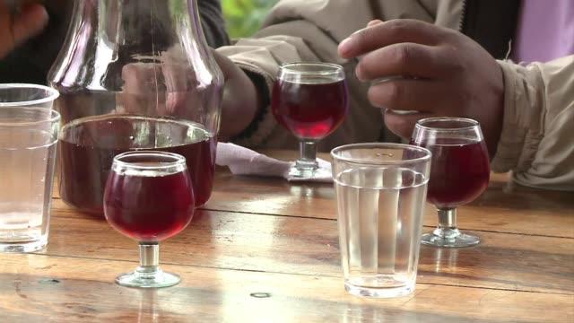 vídeos de stock, filmes e b-roll de el vino mas alto del mundo on april 26 2013 in tarija bolivia - vino