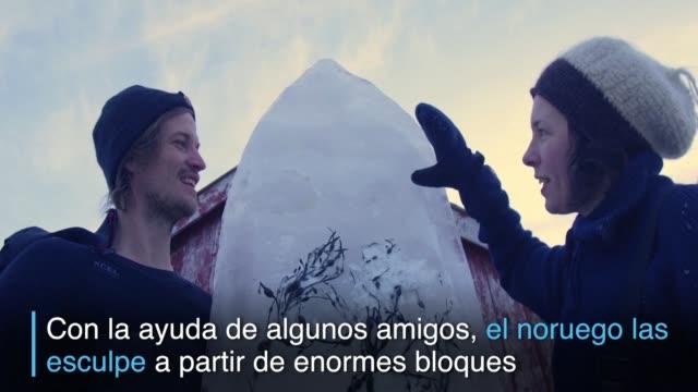 es un objeto delicado y efímero - hielo video stock e b–roll