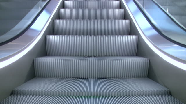 "escalator downstairs ""seamless loop"" hd - escalator stock videos & royalty-free footage"