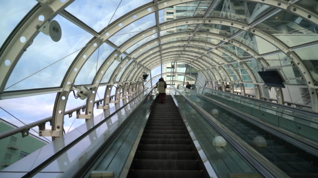 escalator in odaiba