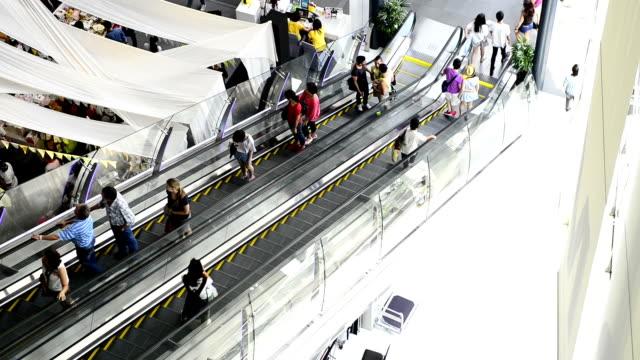 hd -エスカレーターの百貨店 - エスカレーター点の映像素材/bロール