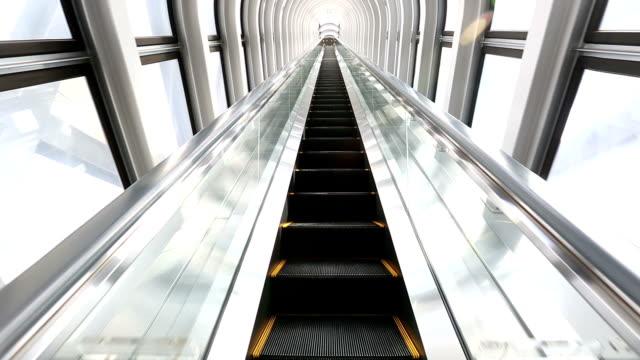HD: Escalator moving up