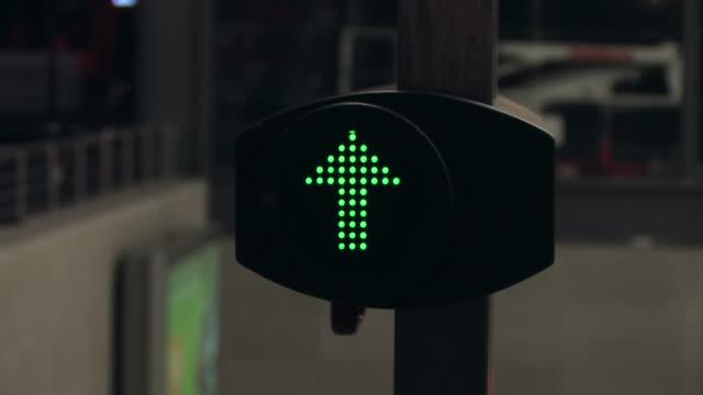 escalator - arrow symbol stock videos & royalty-free footage