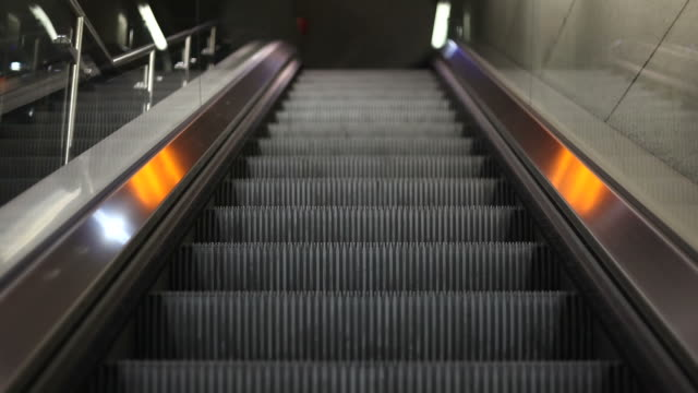 escalator - treppe stock videos and b-roll footage