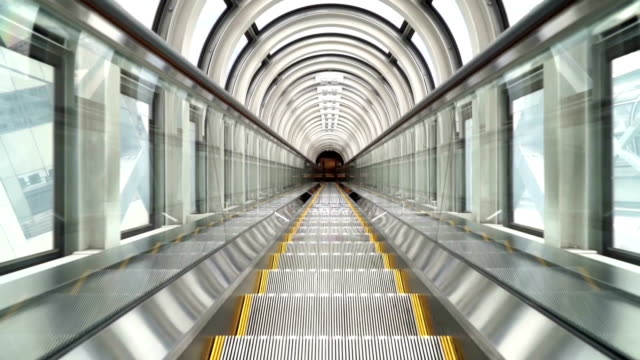 escalator - escalator stock videos & royalty-free footage