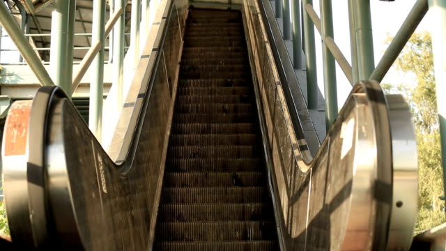 escalator - stair lift stock videos and b-roll footage