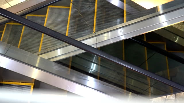 escalator - sparse stock videos and b-roll footage