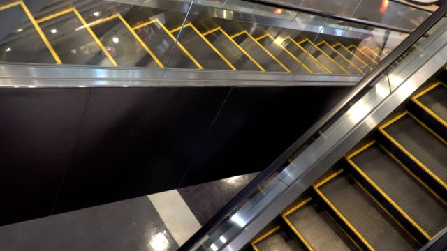 escalator - cross section stock videos & royalty-free footage
