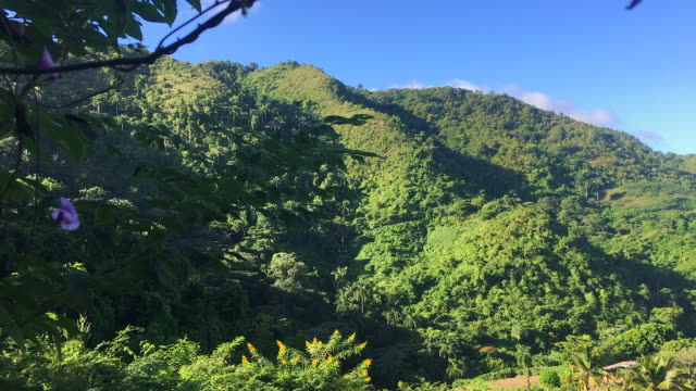 escambray mountains landscape from a top, nature reserve of hanabanilla in cuba - nature reserve stock videos & royalty-free footage
