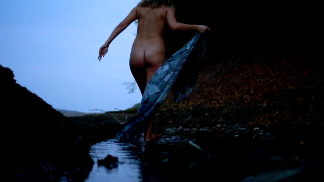 escape to nature - naturist stock videos & royalty-free footage