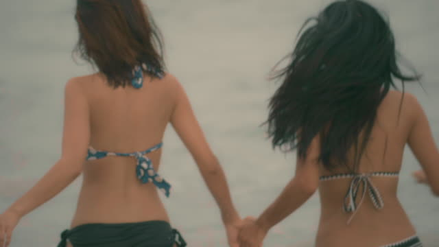 escaping - bikini stock videos & royalty-free footage