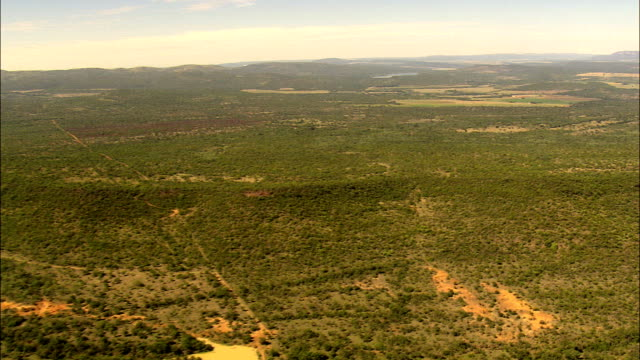Escarpment And Landscape  - Aerial View - Limpopo,  Waterberg District Municipality,  Mogalakwena,  South Africa