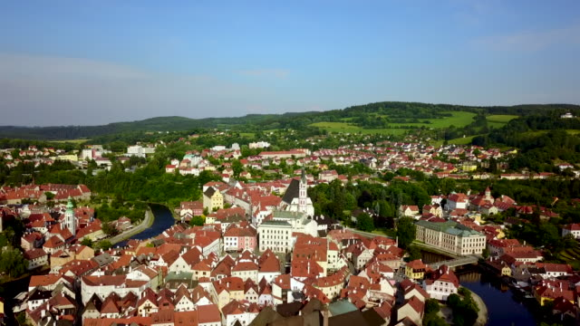 český krumlov. bohemia. czech republic. - bohemia czech republic stock videos & royalty-free footage