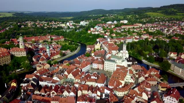 český krumlov. bohemia. czech republic. - tschechische kultur stock-videos und b-roll-filmmaterial