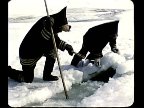 eskimo family - inuit stock videos and b-roll footage