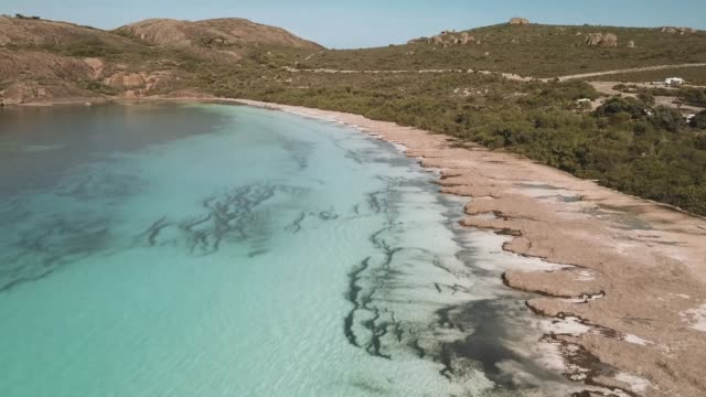esperance drone footage - bay of water stock videos & royalty-free footage