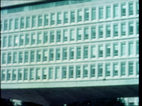 cia involvement usa washington gv factory zoom windows concreted over ms sign building 213 parking zoom gv factory bv blue bus cia shuttle service ms... - former stock videos & royalty-free footage
