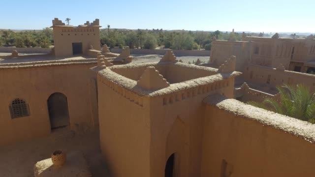 esploring amerhidil casbah (kasbah) - pjphoto69 stock videos & royalty-free footage