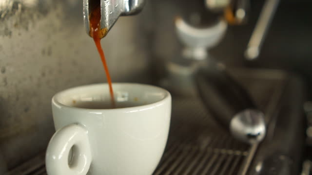 espresso and smoke - coffee drink stock videos & royalty-free footage