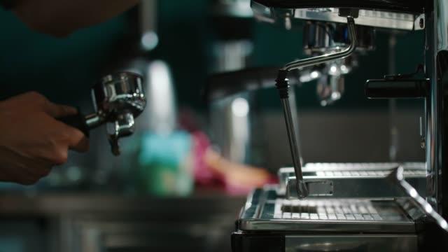 espresso machine - caffeine molecule stock videos & royalty-free footage