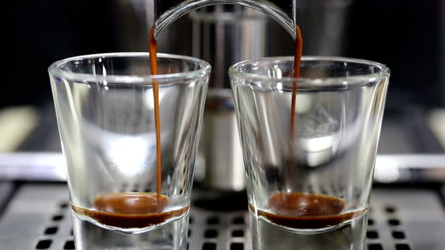 espresso shot. - espresso stock videos & royalty-free footage