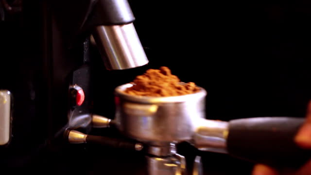 espresso - kitchen utensil stock videos and b-roll footage