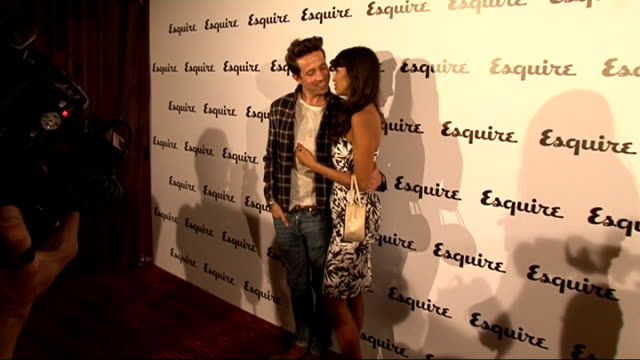 esquire magazine relaunch gvs nick grimshaw being interviewed gvs jameela jamil gvs nick grimshaw and jameela jamil jameela jamil interview sot on... - esquire magazine stock videos & royalty-free footage